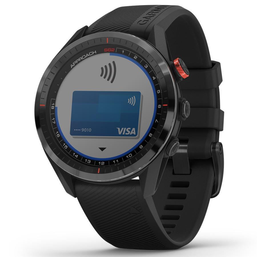 ガーミン GARMIN アプローチ S62 CT10セットモデル ゴルフ GPS スマートウォッチ ブラック 010-02200-22|neel2|05