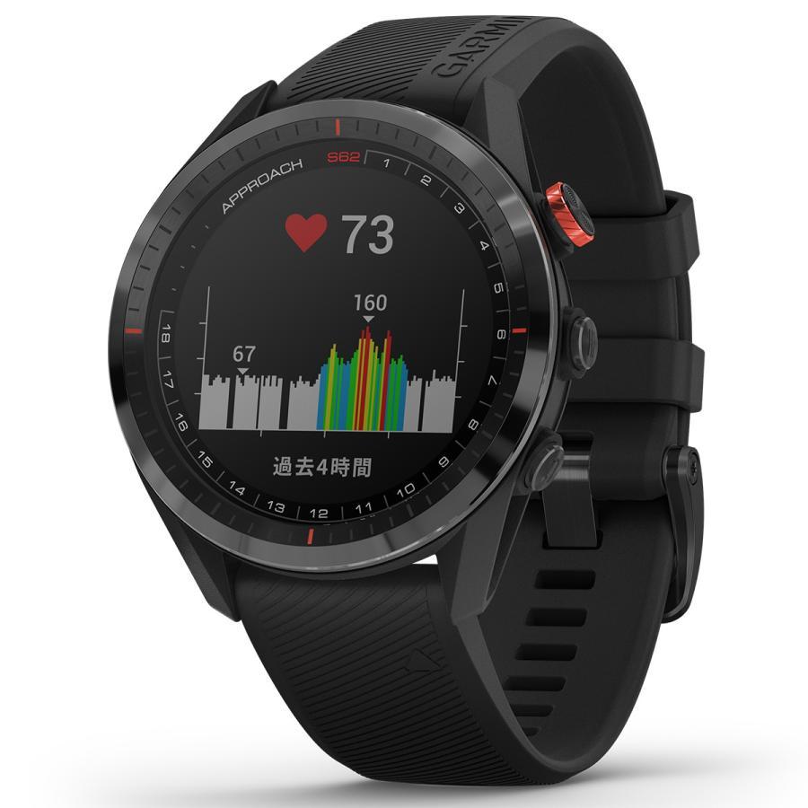 ガーミン GARMIN アプローチ S62 CT10セットモデル ゴルフ GPS スマートウォッチ ブラック 010-02200-22|neel2|09