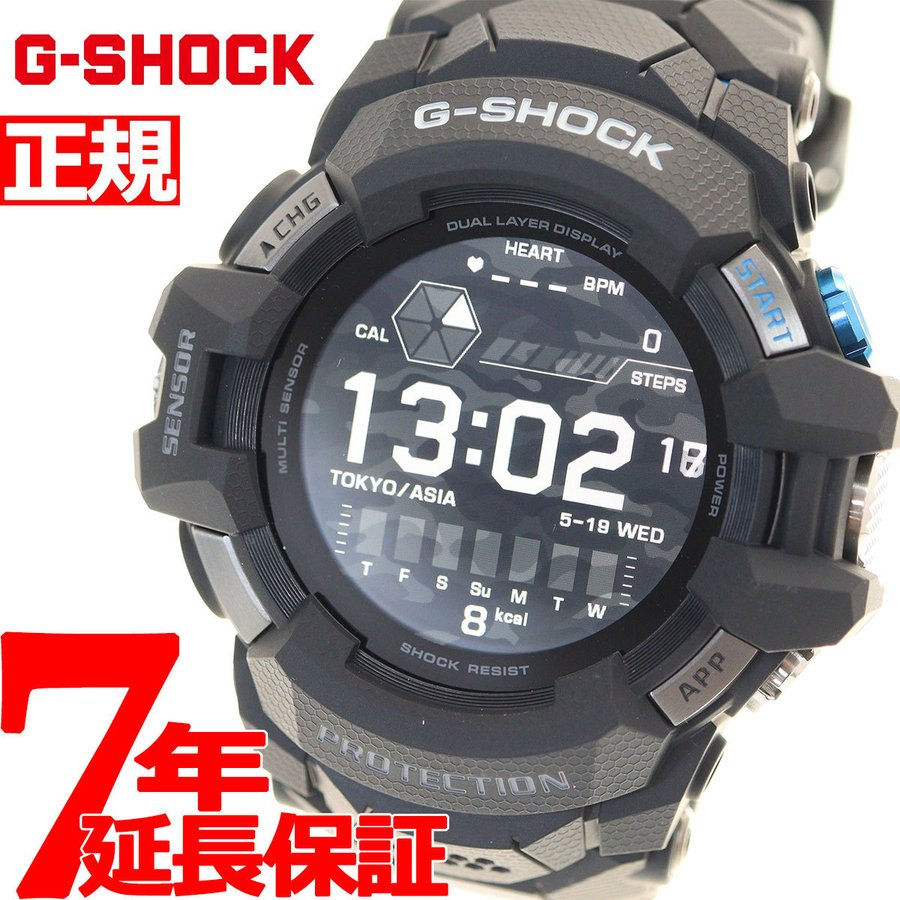 G-SHOCK G-SQUAD PRO カシオ Gショック Wear OS by Google 搭載 GPS スマートウォッチ CASIO 腕時計 メンズ ジースクワッド プロ GSW-H1000-1JR