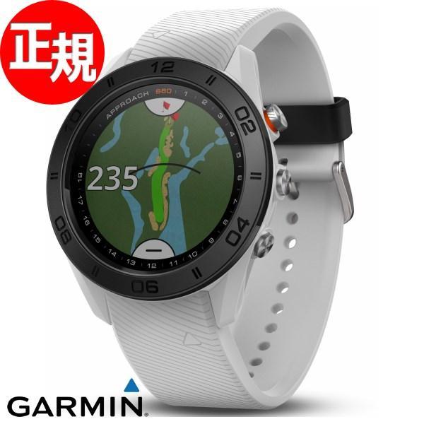 ポイント最大21倍! ガーミン アプローチ S60 GPSゴルフナビ スマートウォッチ 時計 Approach S60 010-01702-24