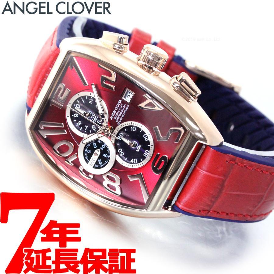 店内ポイント最大30倍!エンジェルクローバー 腕時計 メンズ ソーラー クロノグラフ DPS38PRE-RE