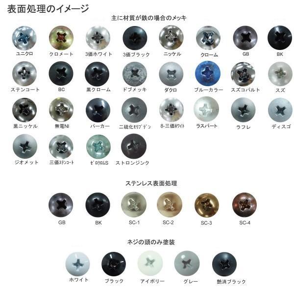 スリ割りなしローレットビス  3 X 8 ステンレス 生地 【500本】 nejikuru 04