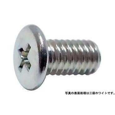 0番2種(+)ナベ小  2.0 X 8.0 鉄 三価ブラック 【5,000本】