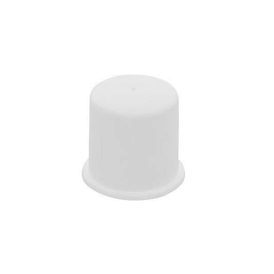 ナットキャップ(白)【100個】ナットキャップ(シロ) M12(17 鉄(または標準)/生地(または標準)