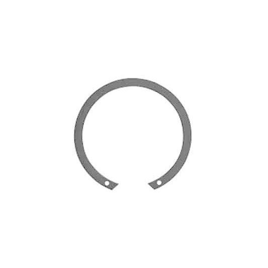 JIS穴付同心止め輪(穴用・羽島【50個】JISドウシン アナ(ハシマ 180 鉄(または標準)/生地(または標準)