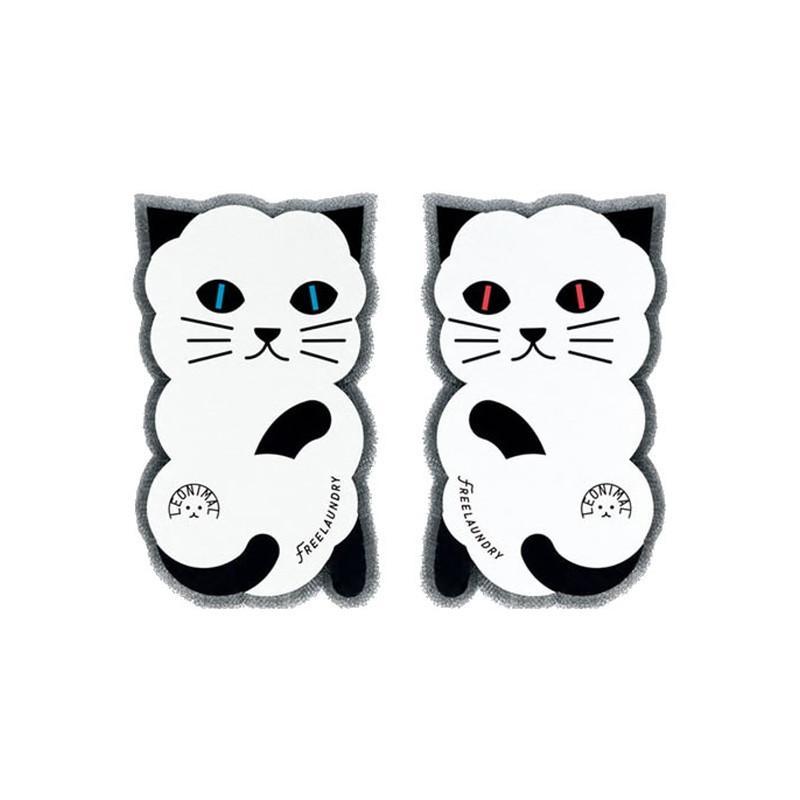 アイソシアル フリーランドリー グレー 掃除用品 正規認証品!新規格 洗濯スポンジ 猫用品 期間限定特別価格