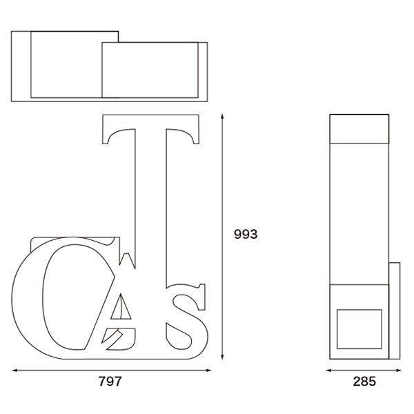 ニャンダフル・キャットタワー 「CATS」 据え置き型 / 猫用 キャットタワー ECOでおしゃれなデザインの高品質 日本製 ダンボール製 nekodan 04