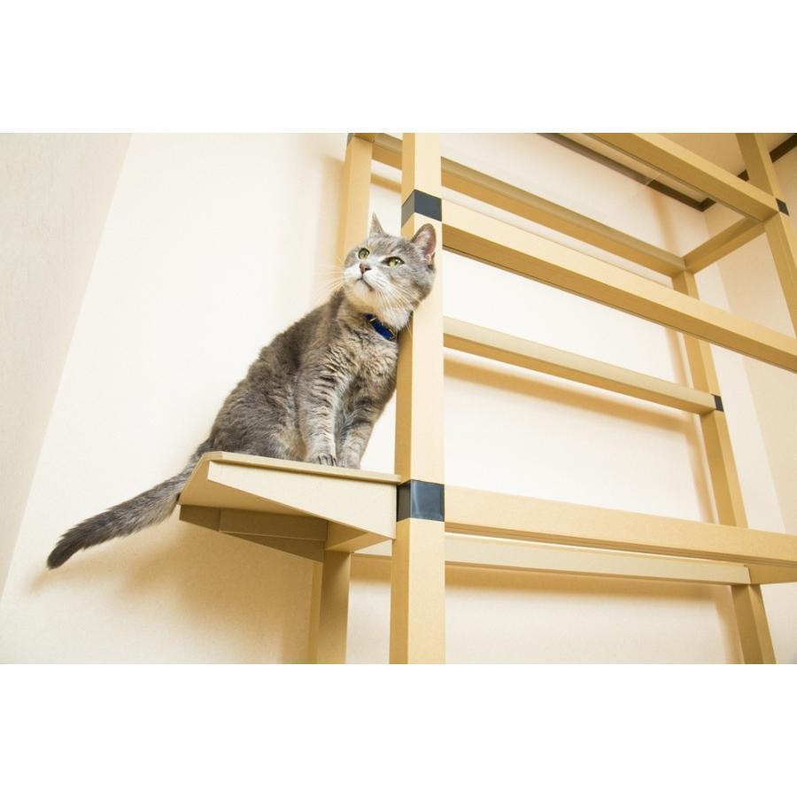 サイドステップ ニャンダフルシェルフ オプション品 / 猫用 ECO おしゃれデザイン 日本製|nekodan