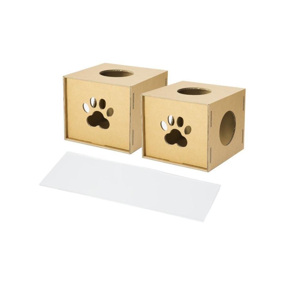 ニャンダフルシェルフ mini 専用オプション / 猫用 ECO おしゃれデザイン 日本製 ダンボール製 nekodan
