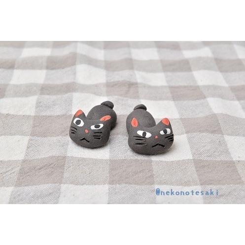 猫雑貨 キッチン 箸置き 猫 美濃焼手作り猫の箸置き nekote-shop 04