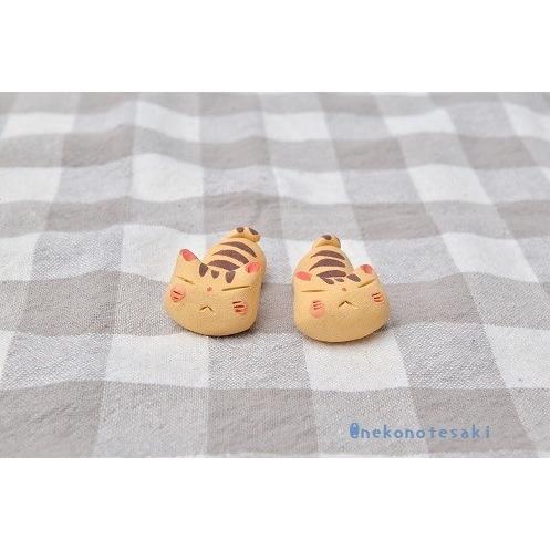 猫雑貨 キッチン 箸置き 猫 美濃焼手作り猫の箸置き nekote-shop 05