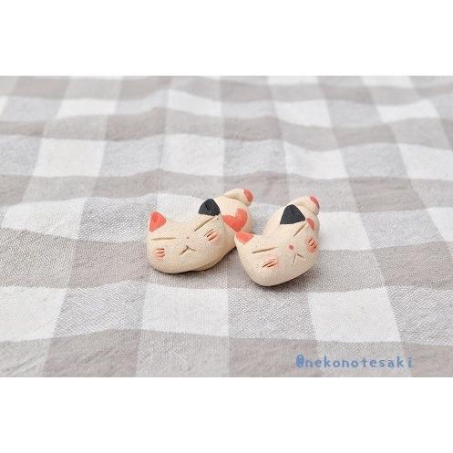 猫雑貨 キッチン 箸置き 猫 美濃焼手作り猫の箸置き nekote-shop 06