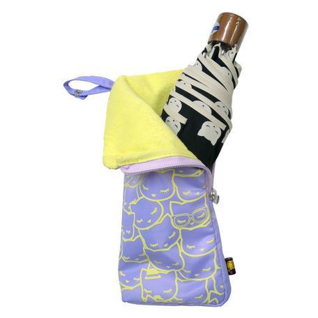 猫雑貨 レインポーチ 折り畳み傘ケース|nekote-shop|02