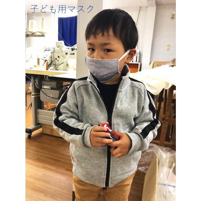 マスク 医療用ガーゼと脱脂綿で製造 同色5枚組 送料無料  日本製  nemuriestore 09