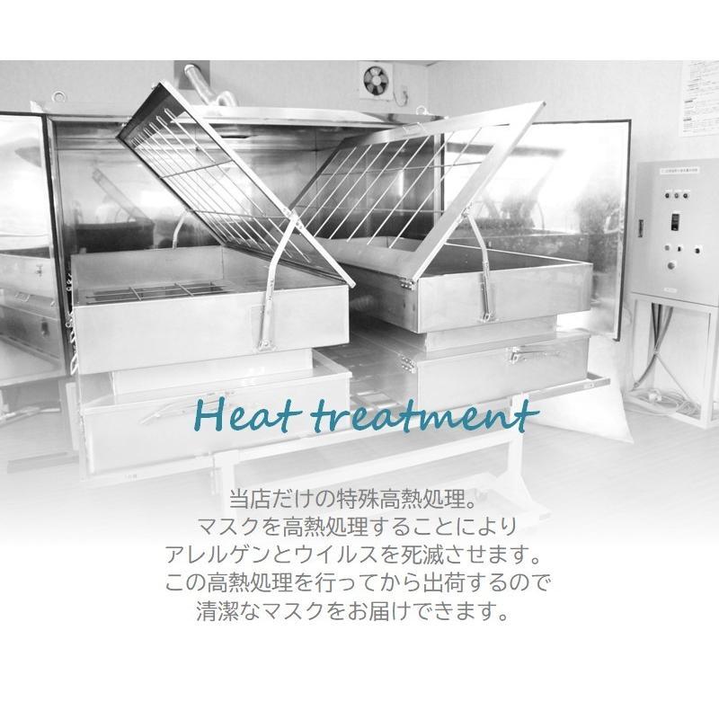 マスク 医療用ガーゼと脱脂綿で製造 同色5枚組 送料無料  日本製  nemuriestore 04