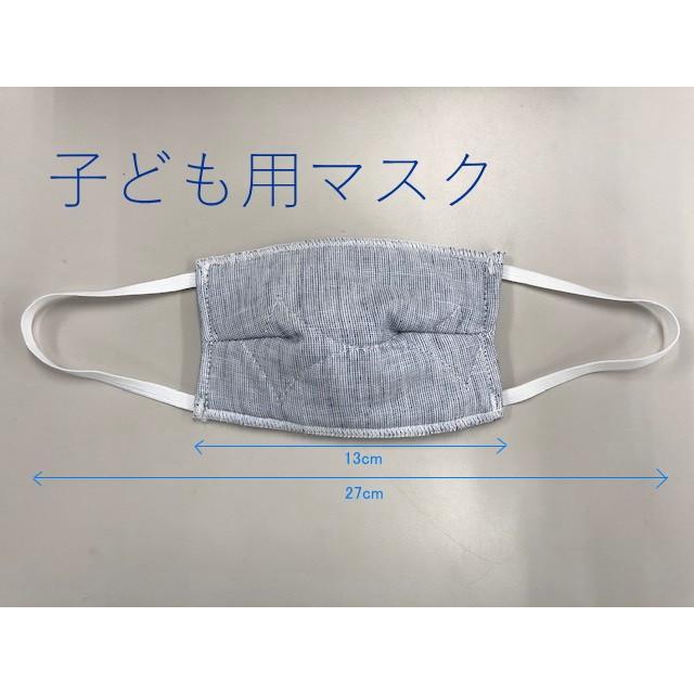 マスク 医療用ガーゼと脱脂綿で製造 同色5枚組 送料無料  日本製  nemuriestore 07