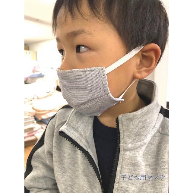 マスク 医療用ガーゼと脱脂綿で製造 同色5枚組 送料無料  日本製  nemuriestore 08
