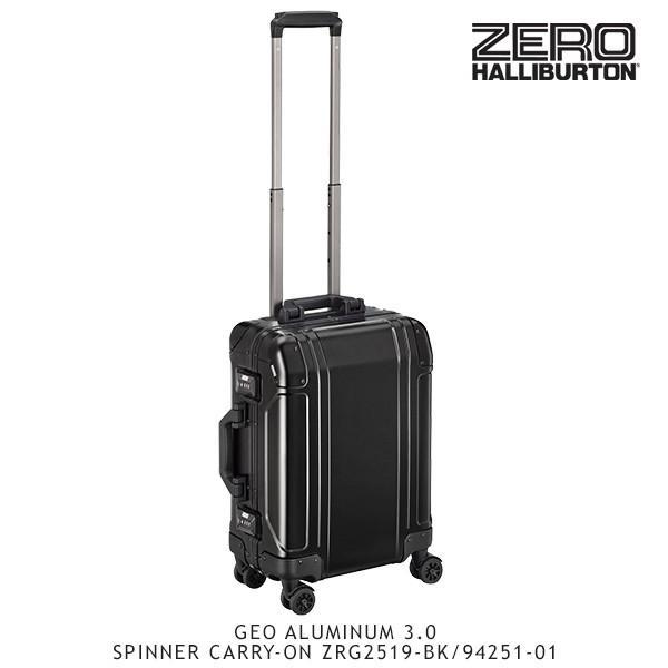 ゼロハリバートン ZERO HALLIBURTON ジオ アルミニウム 3.0 SPINNER CARRY-ON ZRG2519-BK/94251-01 /キャリーケース/スーツケース/[GG]