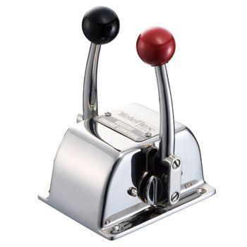 TWIN-S コントロールボックス クラッチ&スロットル(赤・黒) 031001-001