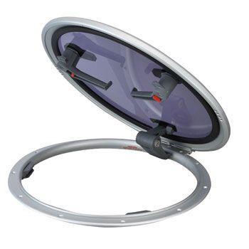 ラウンドハッチ ロープロファイル フランジ寸法:588mm
