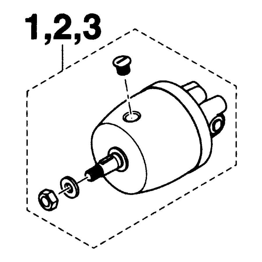 SEAPARTNER(シーパートナー) 手動油圧操舵機用部品 ヘルムポンプ H-618-2 18cc