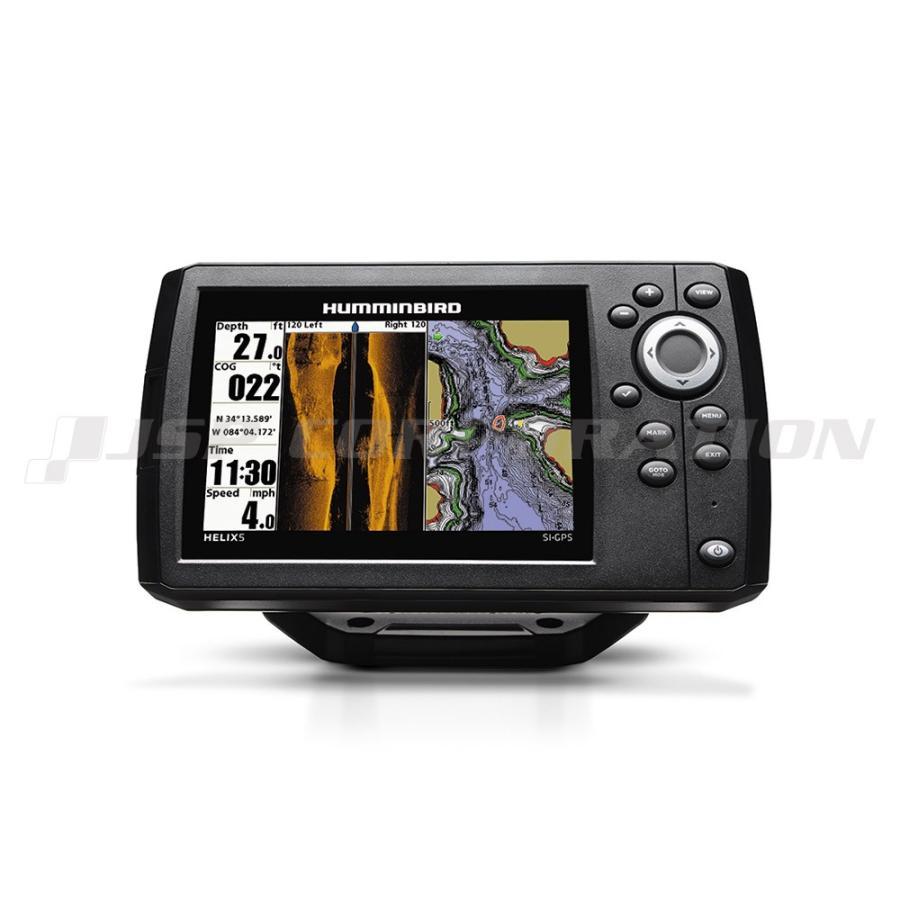 5インチGPS魚探 HELIX5 CHIRP SI GPS G2 海マップセット