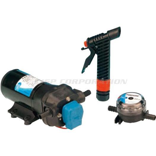 デッキ洗浄ポンプ 16.3L/分 12V 32700-0392