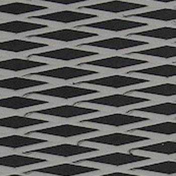 ツートン汎用トラクションマット(テープ付き) カットダイヤ 黒/GRAY
