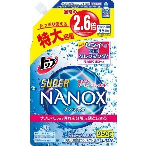 トップ スーパーNANOX 詰め替え特大 × 3個セット|neosheep