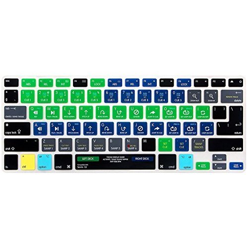 HRH Serato DJ Functional Hot key Shortcut Silicone Keyboard Skin Cover For