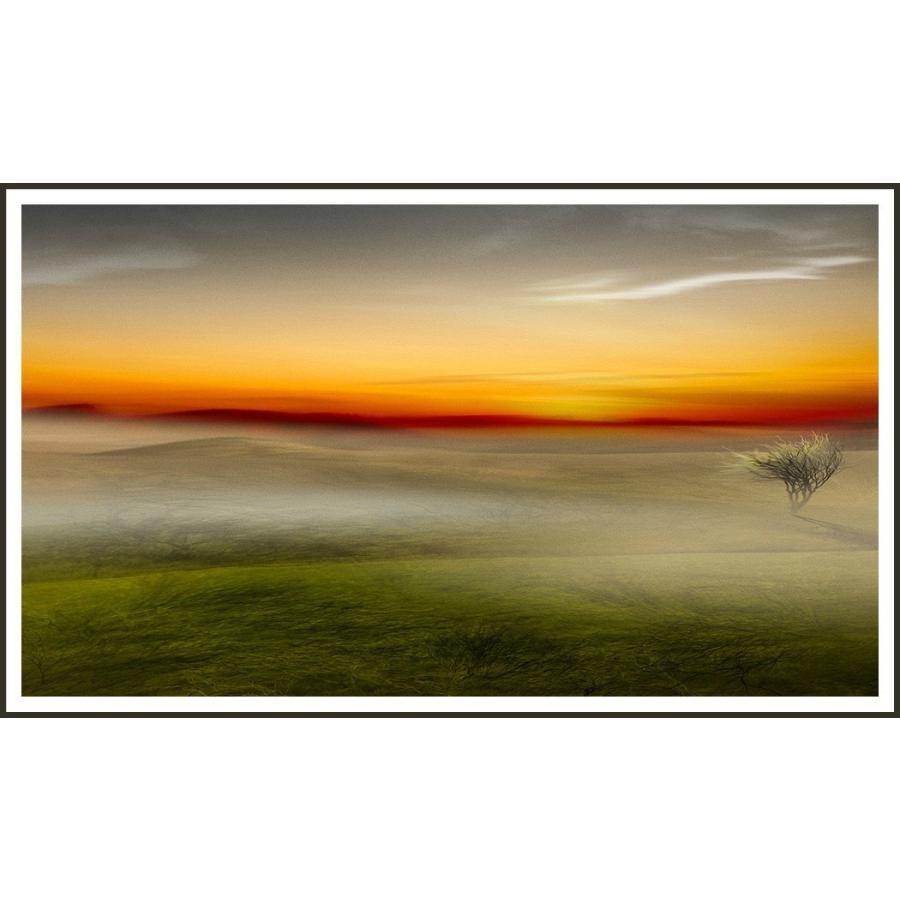 絵画 ネルバ作「今日のはじまり」116-292 ジクレー版画 2016年製作 限定18枚