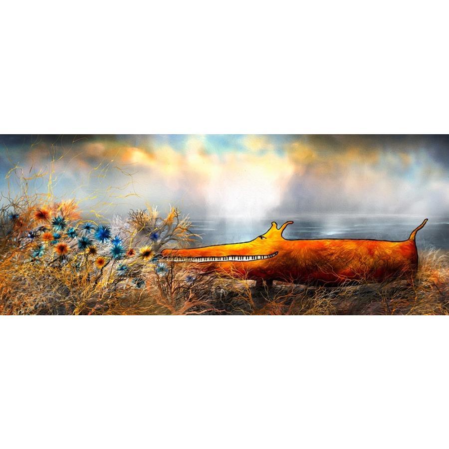 絵画 ネルバ作「この花、大好き」117-296 ジクレー版画