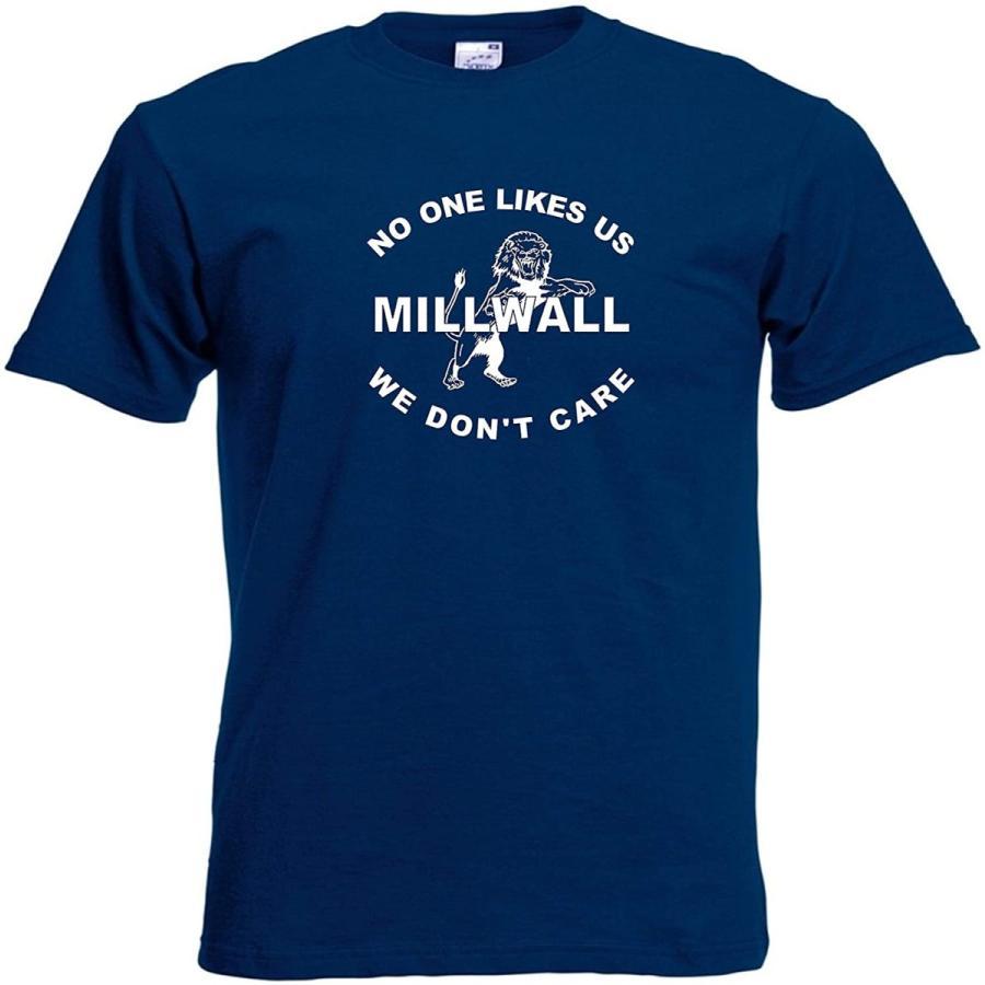 Invicta Millwall FC London UK Nobody Likes Us フットボール サッカー FC Tシャツ XXX-Large