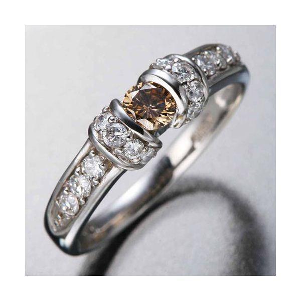 入園入学祝い K18WGダイヤリング 指輪 ツーカラーリング 7号, 熱海市 e33b0306