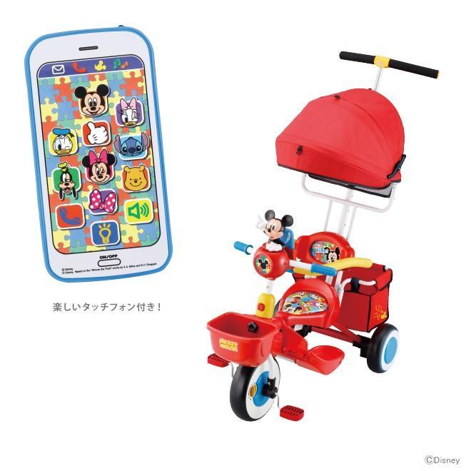 ミッキーマウス アイデス<ides> タッチフォンカーゴ レッド 01191
