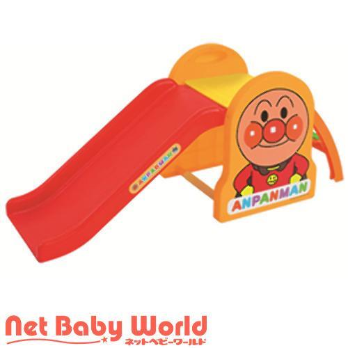 アンパンマン うちの子天才 すべりだい ボール付き ( 1セット )/ アガツマ ( おもちゃ 遊具 )