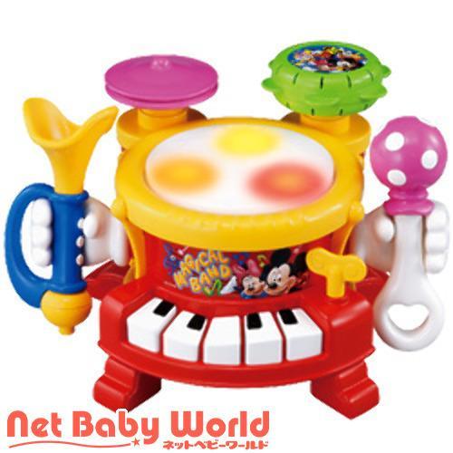 リズムあそびいっぱいマジカルバンド トゥーンタウンミッキー ( 1個 )/ タカラトミー ( おもちゃ 遊具 楽器玩具 )