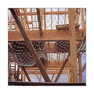 【別注対応可・サイズオーダーできます】3.2φ 4.5畳 木造住宅用安全ネット 10cm目 8枚入り
