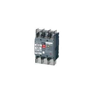 パナソニック BJW31203K 漏電ブレーカBJW-125型120A 30mA(モータ保護兼用)