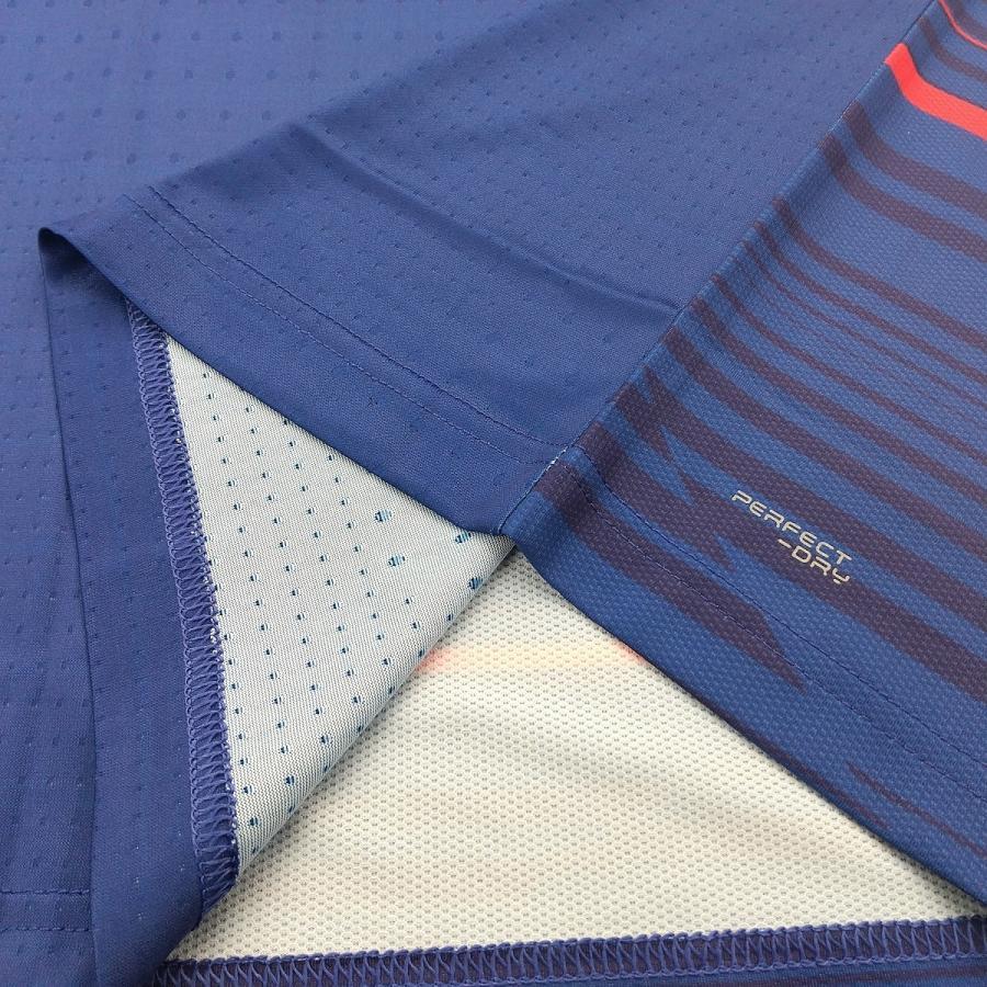 VICTOR T-05001 B/ネイビー ビクター ゲームシャツ UNI 日本バドミントン協会公認|netintm|07