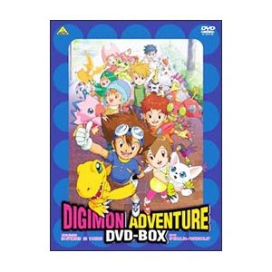 DVD/デジモンアドベンチャー DVD·BOX