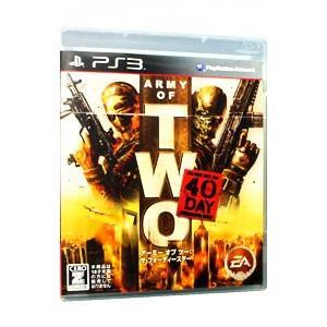 PS3/アーミー オブ ツー:The 40th Day (CERO「Z」 18歳以上のみ対象)|netoff