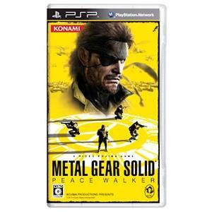 PSP 受注生産品 メタルギア 定番から日本未入荷 ソリッド ピースウォーカー