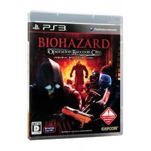 PS3 NEW バイオハザード ラクーンシティ オペレーション 新作製品 世界最高品質人気