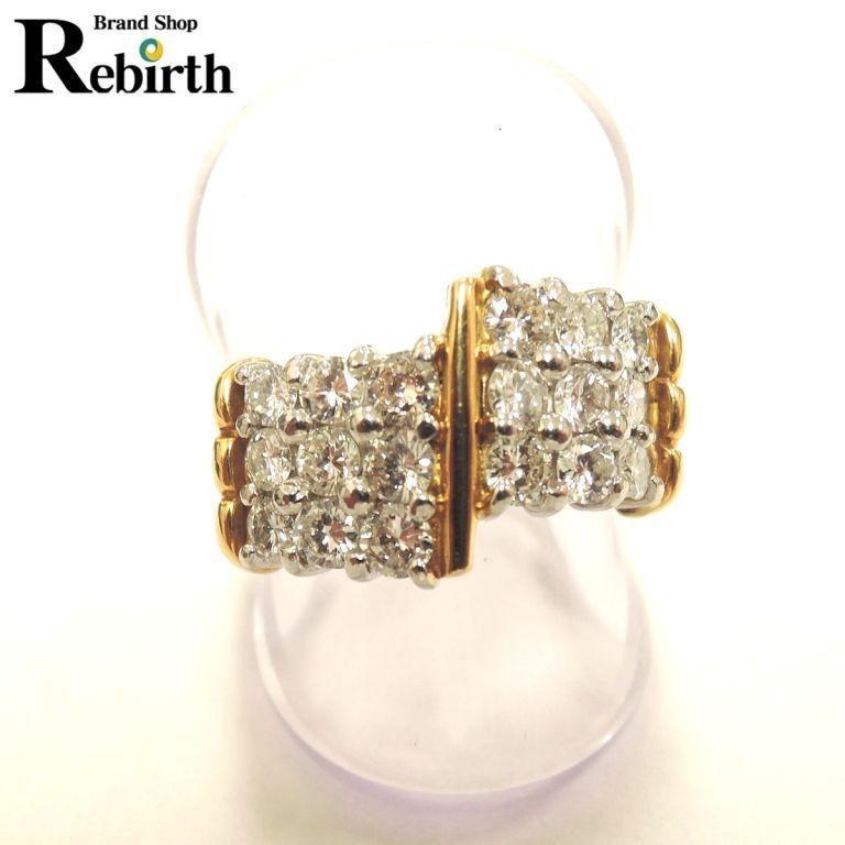 【ラッピング不可】 プラチナ900/K18 ダイヤモンドリング ダイヤ1.13カラット 10.8g ES, デサント公式オンラインショップ 1831ba2c
