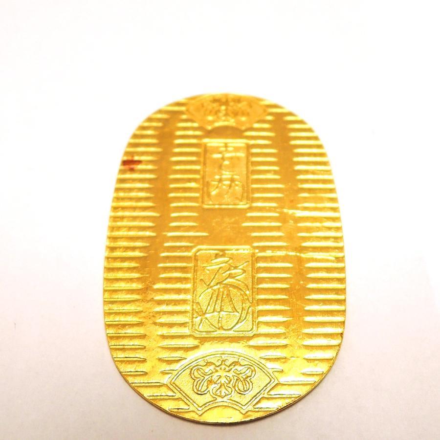 K24/純金 徳力 小判10g 日本橋徳力刻印 FS