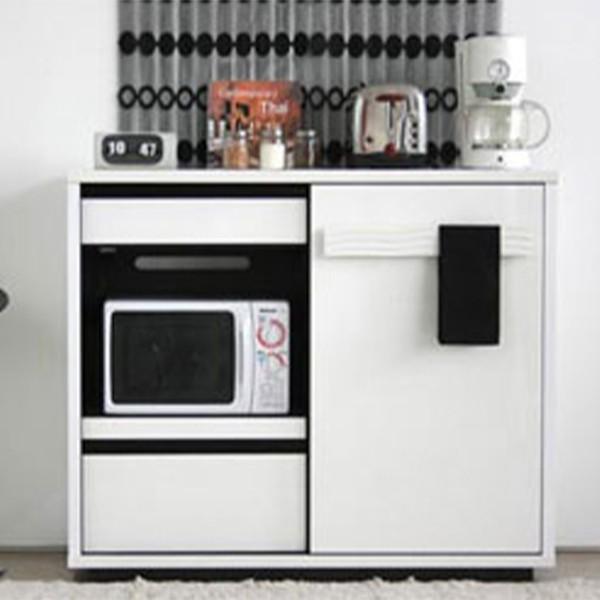 キッチンカウンター ホワイト おしゃれ 間仕切り 幅120 シュール シュール ミドルボード キッチンキャビネット 日本製 完成品