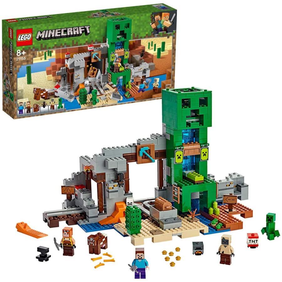 レゴ LEGO マインクラフト マイクラ プレゼント 21155 巨大クリーパー像の鉱山 オープニング 大放出セール