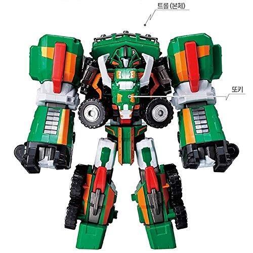 [トボットV] Tobot V TROLL(トロール) マンモスの形 変身合体ロボット [並行輸入品]