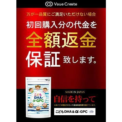 こども DHA&α-GPC DHA EPA α-GPC ホスファチジルセリン 配合 【集中・学習特化型サプリメント】 60粒約30日分|netshop-kadoyoriya|06